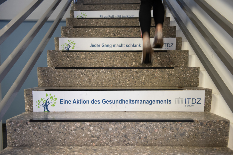 BGM - Treppenstufen im ITDZ Berlin
